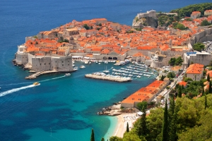 "DUBROVNIK, ""PEARL OF ADRIATIC"""